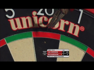 Michael van Gerwen vs Dave Richardson (PDC US Darts Masters 2017 / Quarter Final)