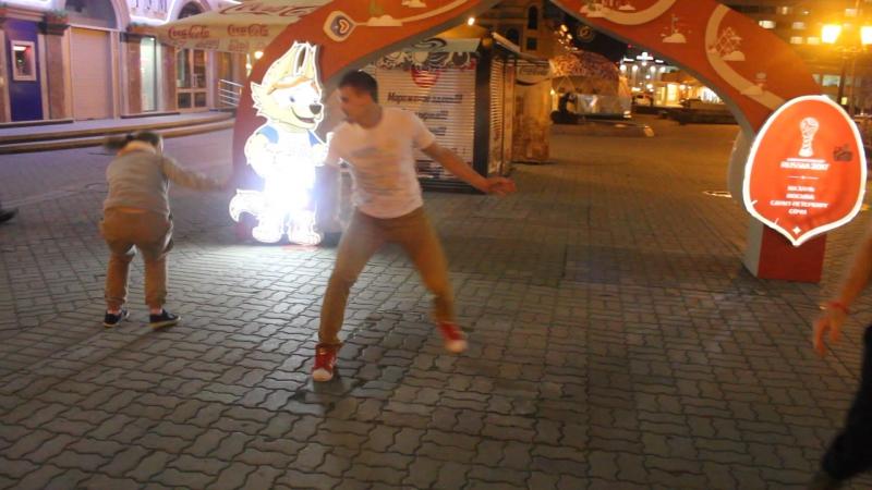 Tava la em Kazan 2017 фр5 рода на Баумана))