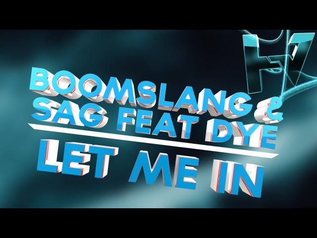 Boomslang SAG feat DYE Let Me In