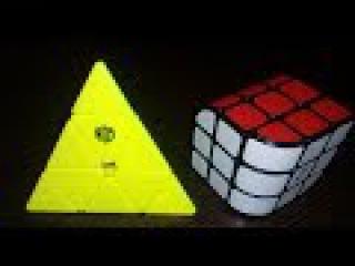 Unboxing №16 (Z-cube Penrose 3x3, QiYi X-MAN  Magnetic Pyraminx-Bell )
