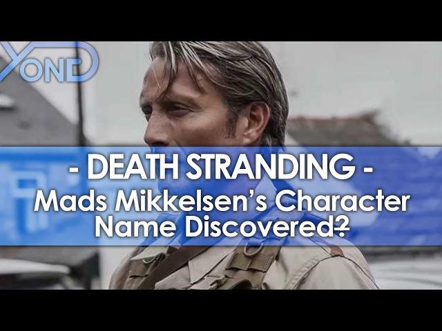 Mads Mikkelsen's Death Stranding Character Name Discovered