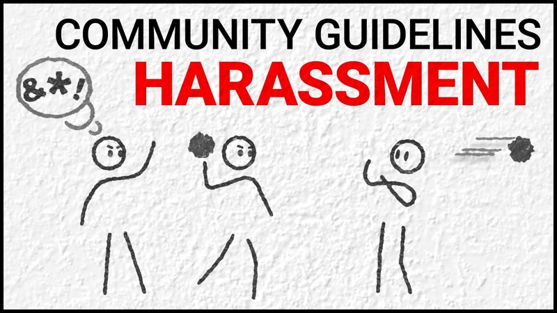 Harassment and Cyberbullying Policy: YouTube Community Guidelines