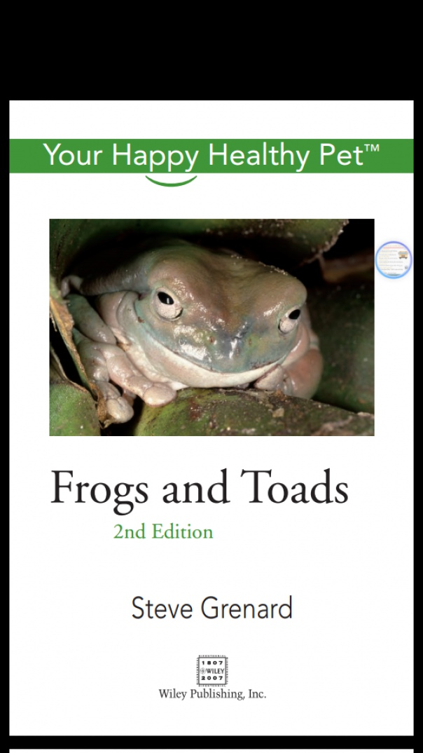 Frogs and Toads Your Happy Healthy