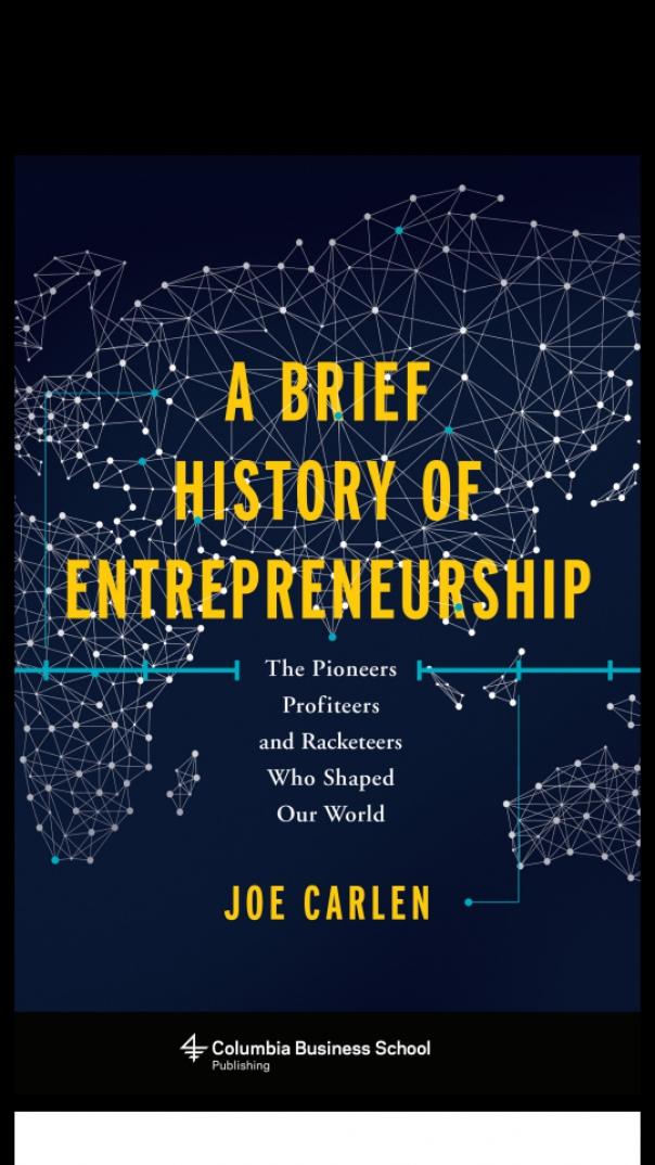 A Brief History Of Entrepreneurs