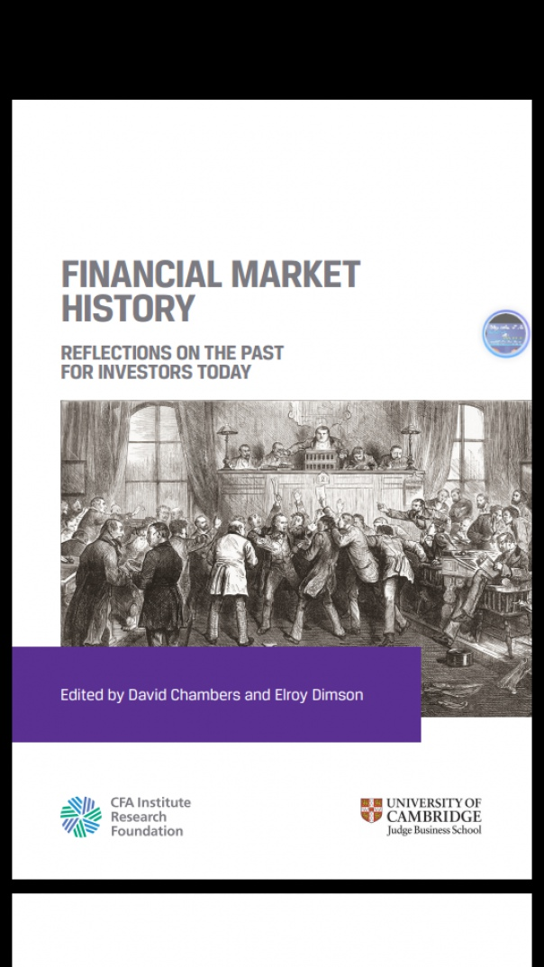FINANCIAL MARKET HISTORY REFLECTIONS ON THE PAST  FOR INVESTORS TODAY