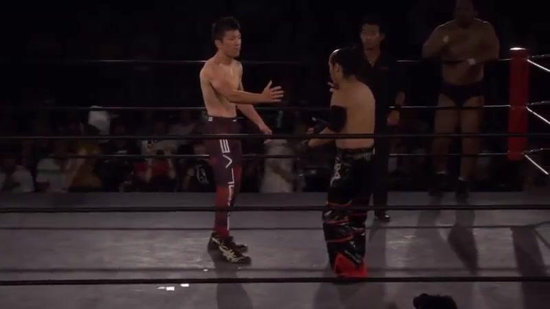 Brahman Kei Brahman Shu vs Hideki Suzuki Shinya Aoki Tokyo Gurentai Tokyo Love 8
