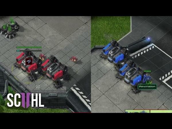 PROXY vs PROXY Maru vs Innovation StarCraft 2 Starleague