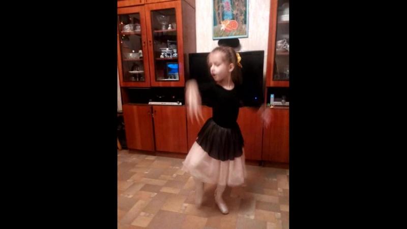 танец маленькой балерины