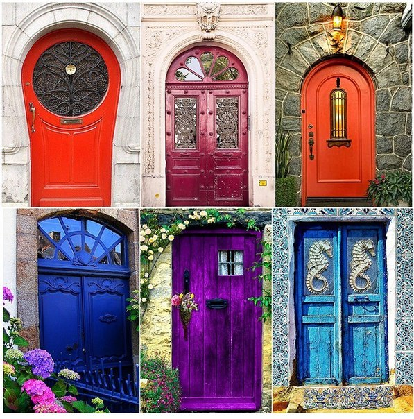 Удивительные двери сo всегo мира