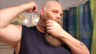 Head Shave of The Night and how to lather shave soap! - And, random thoughts