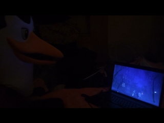 Пингвин смотрит балет