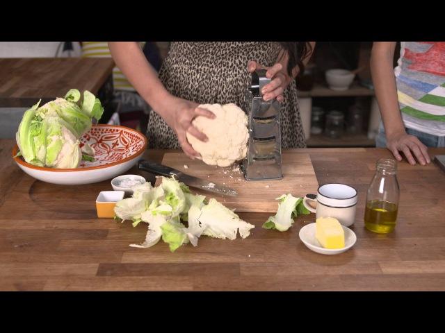 How to make Cauliflower Rice by HEMSLEY HEMSLEY