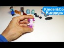 Киндер сюрпризы на русском языке 16 Видео обзор игрушек