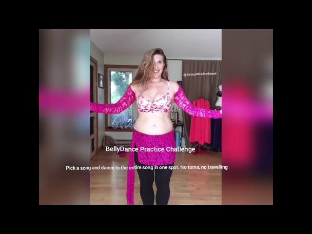 Cassandra Fox Belly Dance's to Youm Al Hazz by the Al Ahram Orchestra