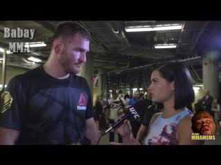 UFC 211: Стипе Миочич о следующем сопернике и травке