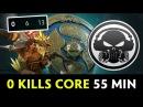 0 kills core at 55 min can win XctN vs VP — The International 2017