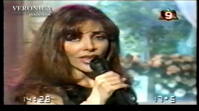 Verónica Castro Pena de Amor y Muerte con Mirtha Legrand en 1997