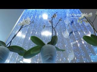 Пузырьковые панели Аквастайл. Обзор инсталляций