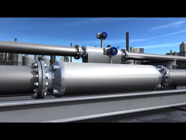 Highest capacity Coriolis mass flowmeters OPTIMASS