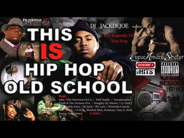 HIP-HOP OLD SCHOOL MIX(80s/90s) FT. N.W.A., 2PAC, NOTORIOUS B.I.G., BIG DADDY KANE, EAZY-E, DJ QUIK,