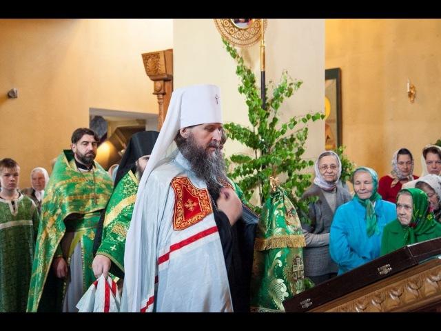 Божественная литургия в день Святого Духа (09-06-2014)
