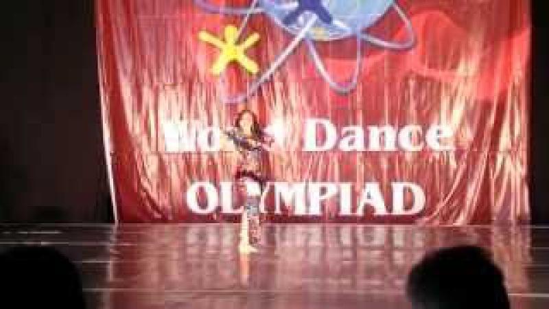 Diana Ra. Shaaby - Adini Albak @ World Dance Olympiad 2014