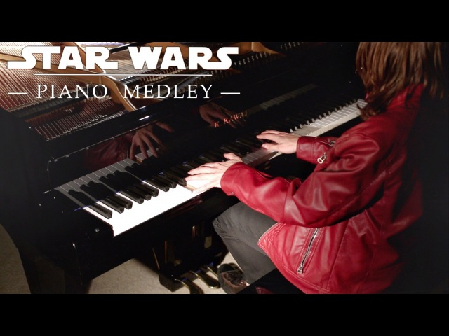 STAR WARS Piano Medley by David Kaylor Composed by John Williams