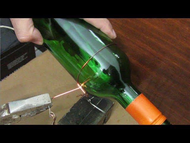 Cortador de Garrafa de Vidro Com Bateria de 12V Glass Bottle Cutter With 12V Battery