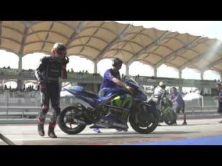The Yamaha Factory Racing Team Start the 2017 MotoGP Season