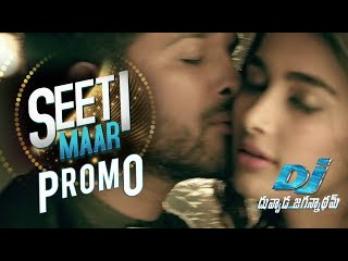 SEETI MAAR Song Trailer - DJ Video Songs   Allu Arjun, Pooja Hegde   Harish Shankar, Dil Raju