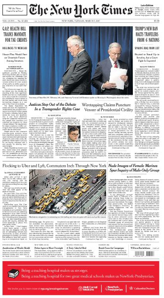 The New York Times March 7 2017 FreeMags
