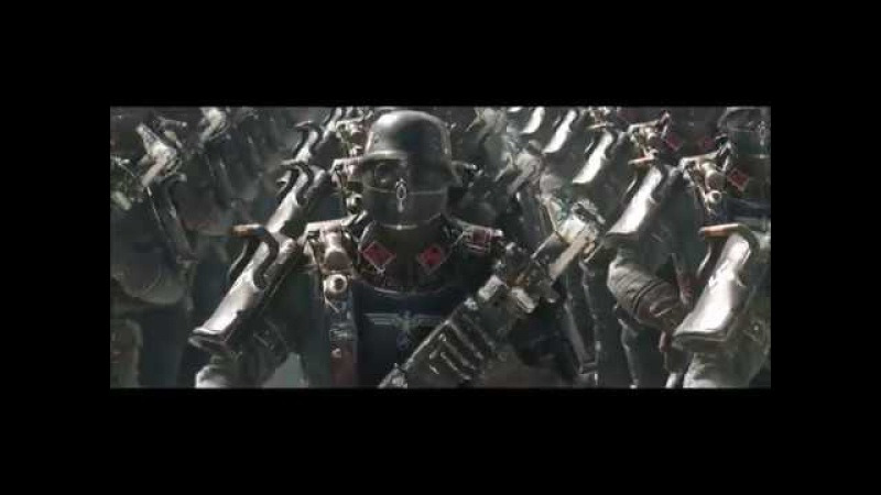 Wolfenstein II The New Colossus SS march 5 minute loop 1080p 60fps