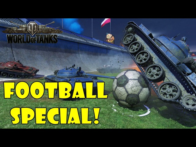 World of Tanks Funny Moments Football Special 2016