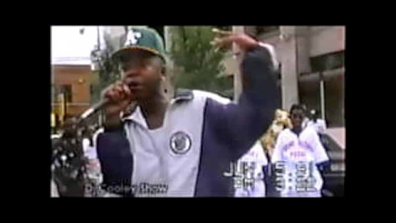 18yr old Twista Mr. Tung Twista LIVE on the Streets. Very Very Rare
