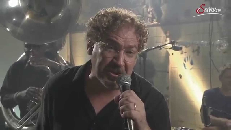 Plans Hazmat Modine bei Pixner's BACKstage Servus TV 2015