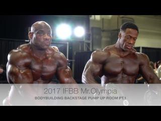 2017 IFBB  Bodybuilding Backstage Video Pt.1