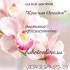 Доставка цветов Екатеринбург Красная орхидея 🌸🌸🌸