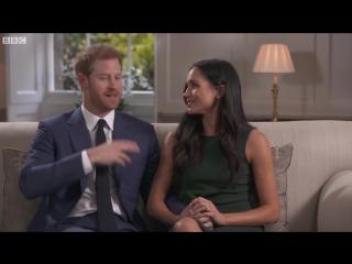 Меган Маркл и принц Гарри после объявления о помолвке дали первое совместное интервью