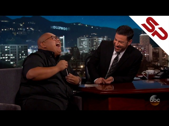 Джейкоб Баталон и видеозвонок Тому Холланду [Jimmy Kimmel]