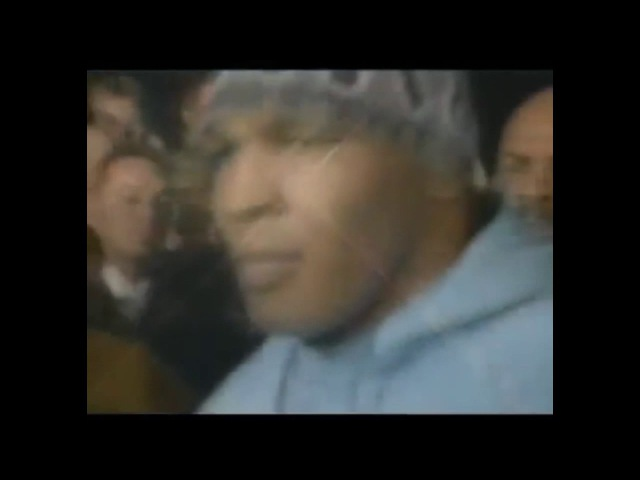 Тайсон выходит на ринг под музыку Тупака(Tyson muzic 2pac)