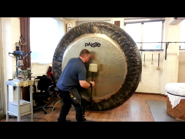 Paiste 80 Symphonic Gong played by Paiste Gong Master Sven