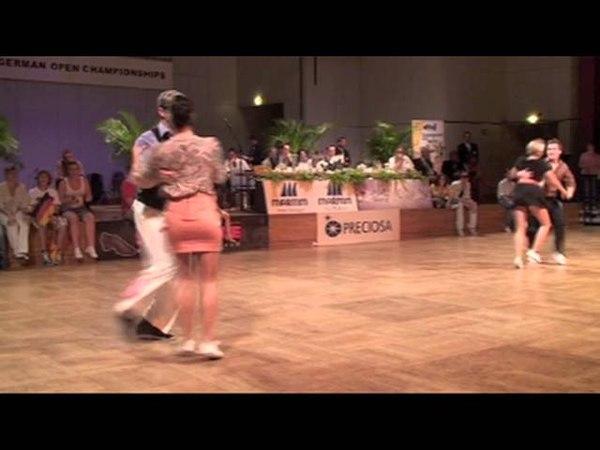 Markus Kakuska Jessica Kaiser - Viertelfinale WM 2011
