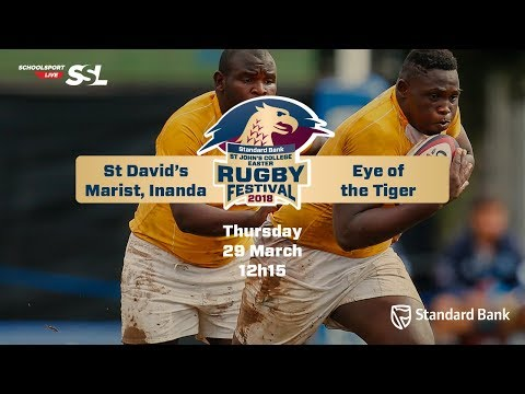 St Johns Rugby Festival 2018 - St David's Marist Inanda vs Eye of the Tiger, 29 March