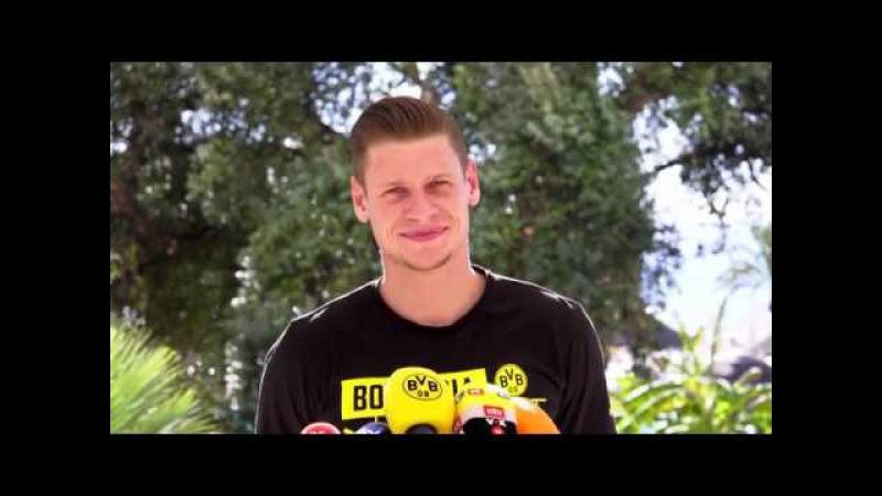 BVB Medienrunde mit Lukasz Piszczek in Marbella