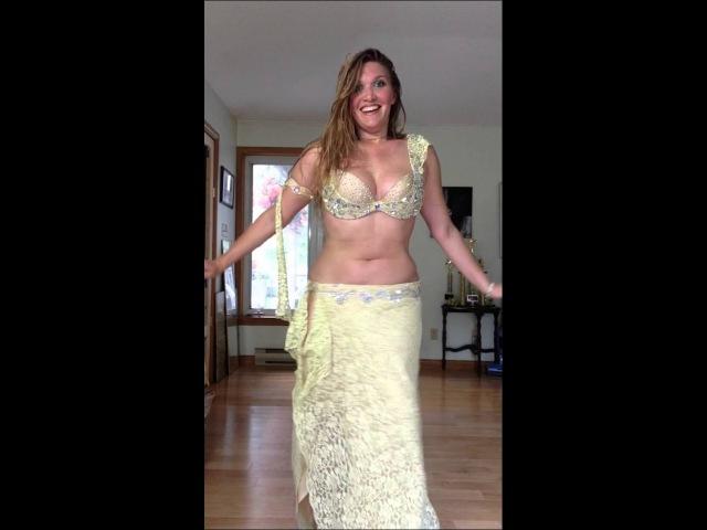 Belly Dancer Cassandra Fox Dances to Drum solo Karsihlagala by Issam Houshan