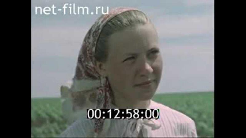 Так мы живем! Колхоз Россия 1958г.