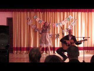 Унжаков Никита и Глушкова Лера (Sing in spring 2018)