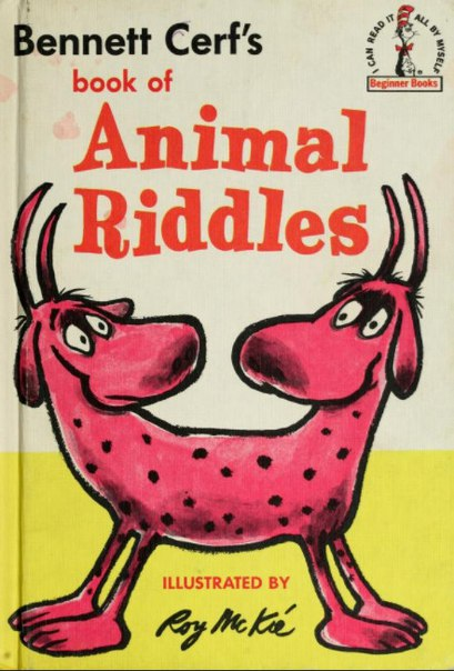 Book of animal riddles-Bennett Cerf