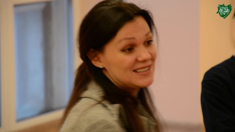 Зачётный гость Алиса Варова в детском доме РКТК 17 03 2018