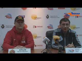 Пресс-конференция Н. Кадакина и М. Юрьева